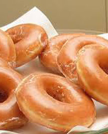 Honey-dipped donuts; image via Mike's Donuts website