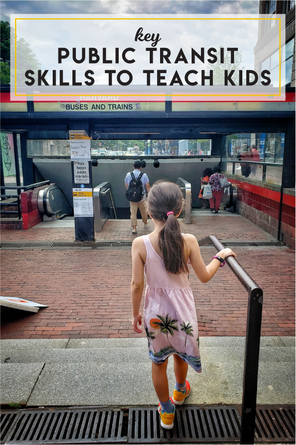 Key public transit life skills to teach kids
