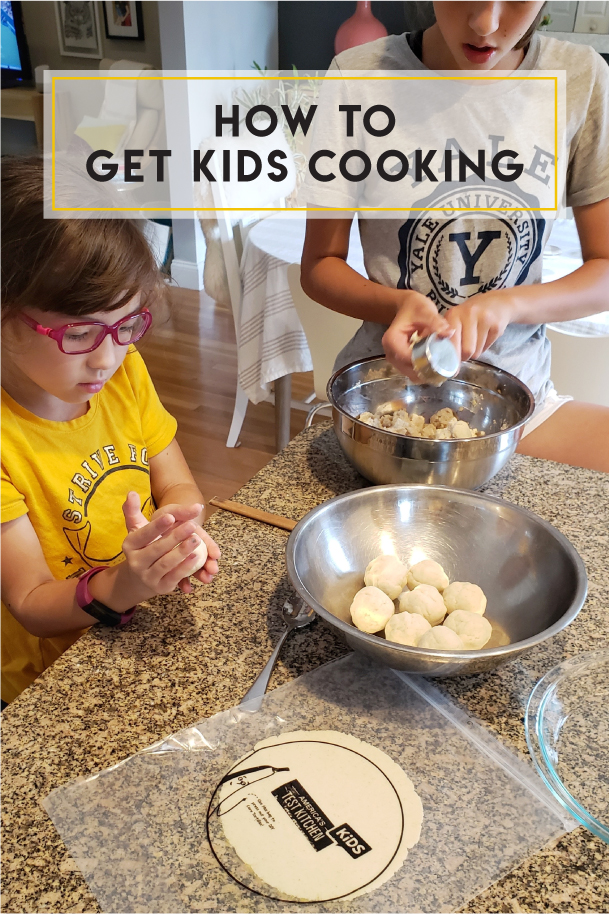 How to get kids cooking