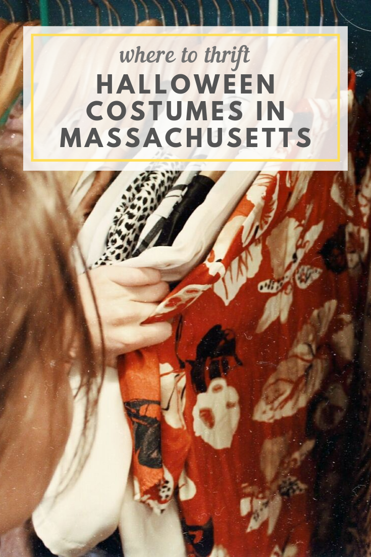 Where to thrift Halloween costumes in Boston & beyond!
