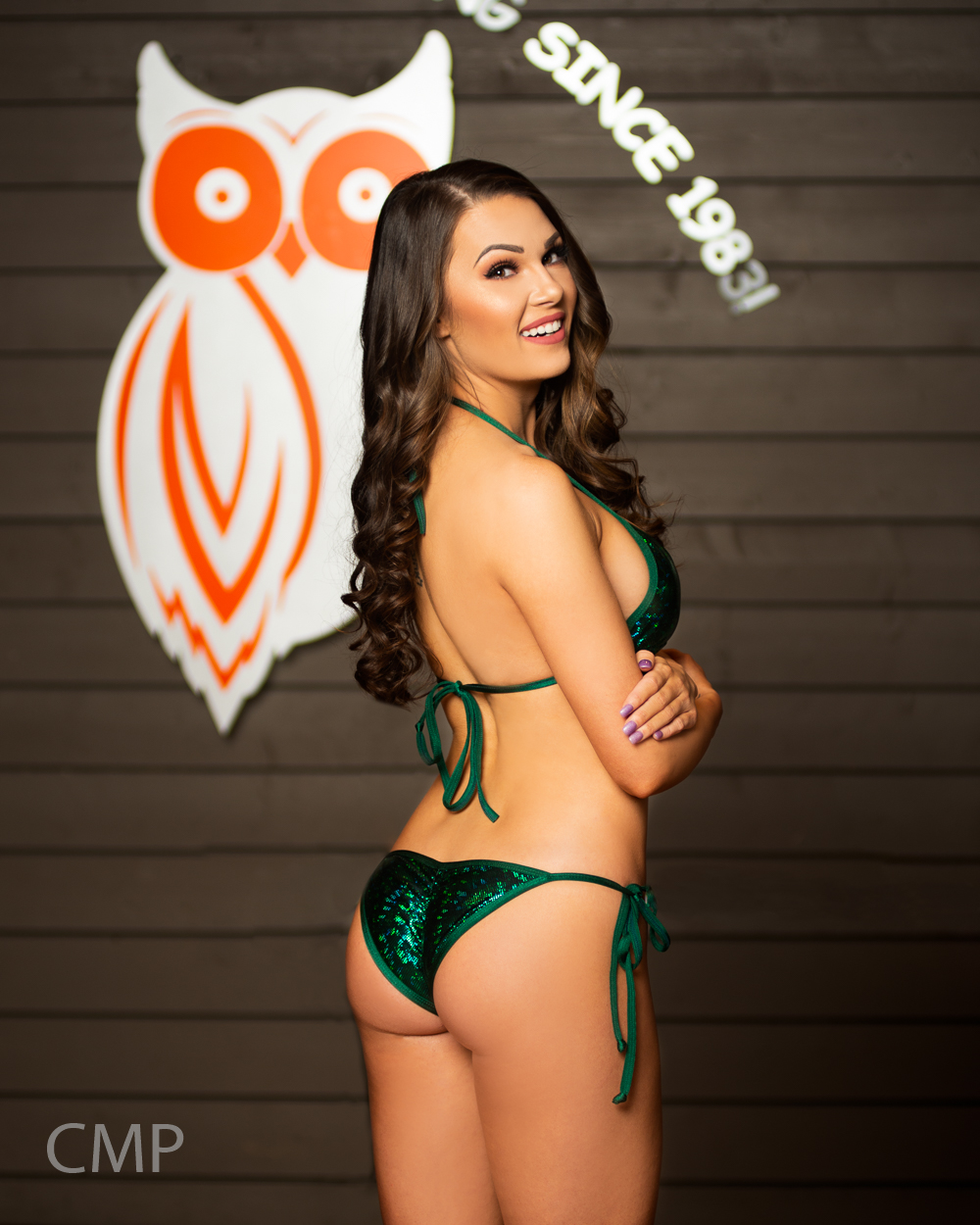 Hooters Model Amberly Hall