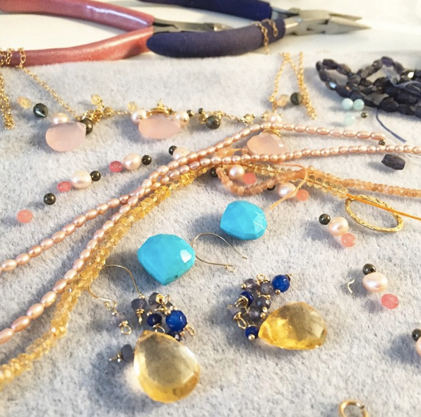 Learn to make jewelry beading jewellery course