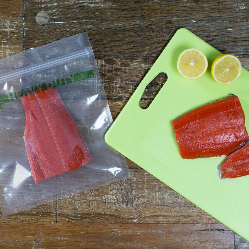 smelly proof bag with fish