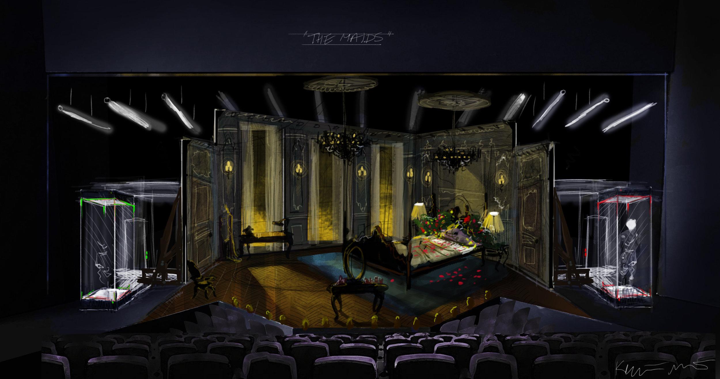 The Maids: Concept Artwork