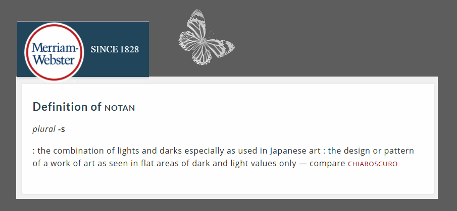 A strong term I've often heard artists use to describe the two interlocking patterns of light and dark/shadow) together is: The Notan... Here is the actual definition from Merriam Webster.