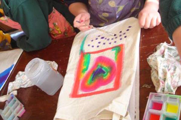 sensorimotor art therapy for children