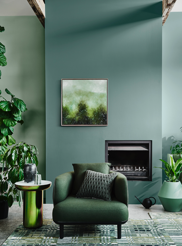 Dulux  colour forecast 2020 / Styled  Bree Leech  Photo  Lisa Cohen