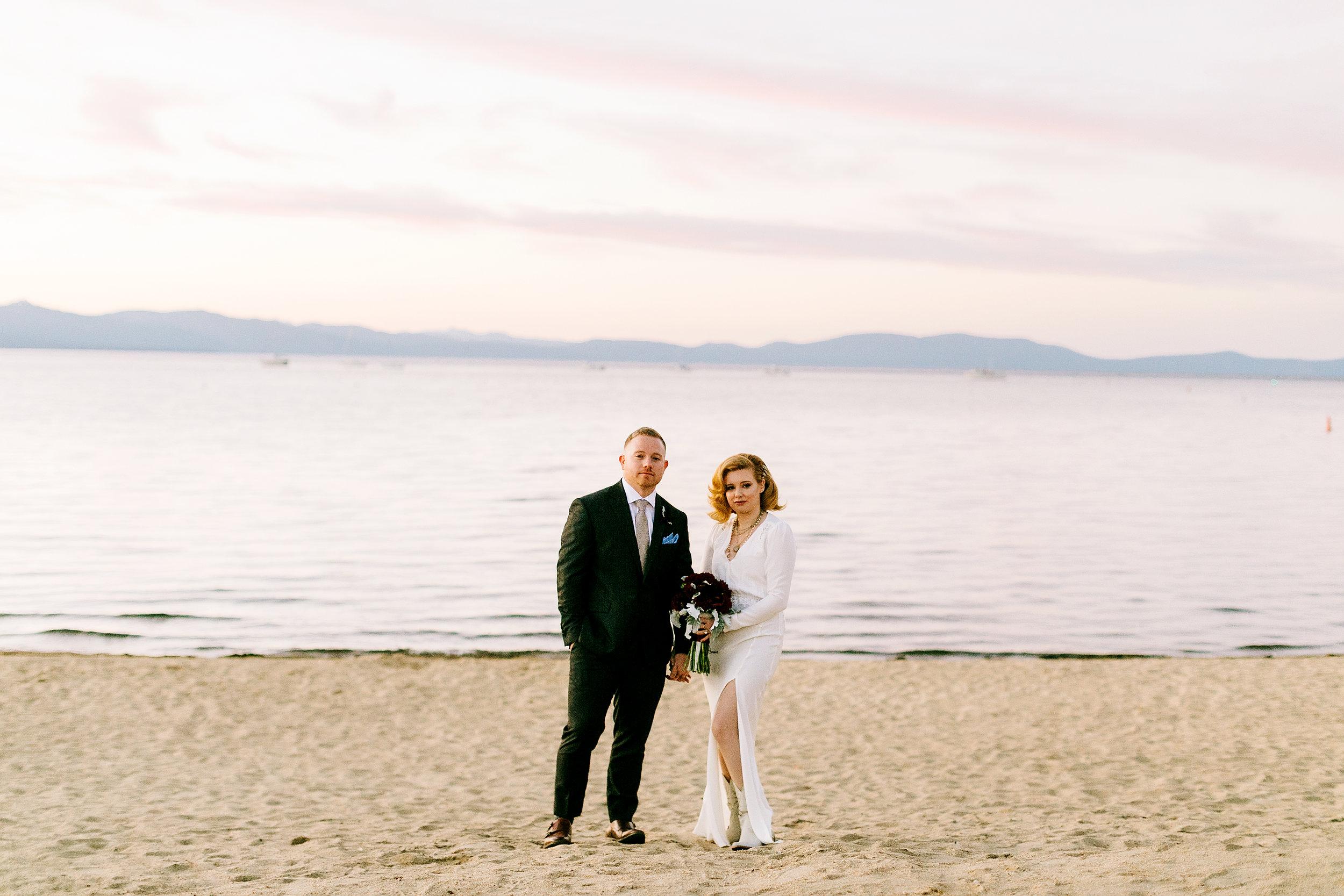 Lindsay & Austin in Lake Tahoe