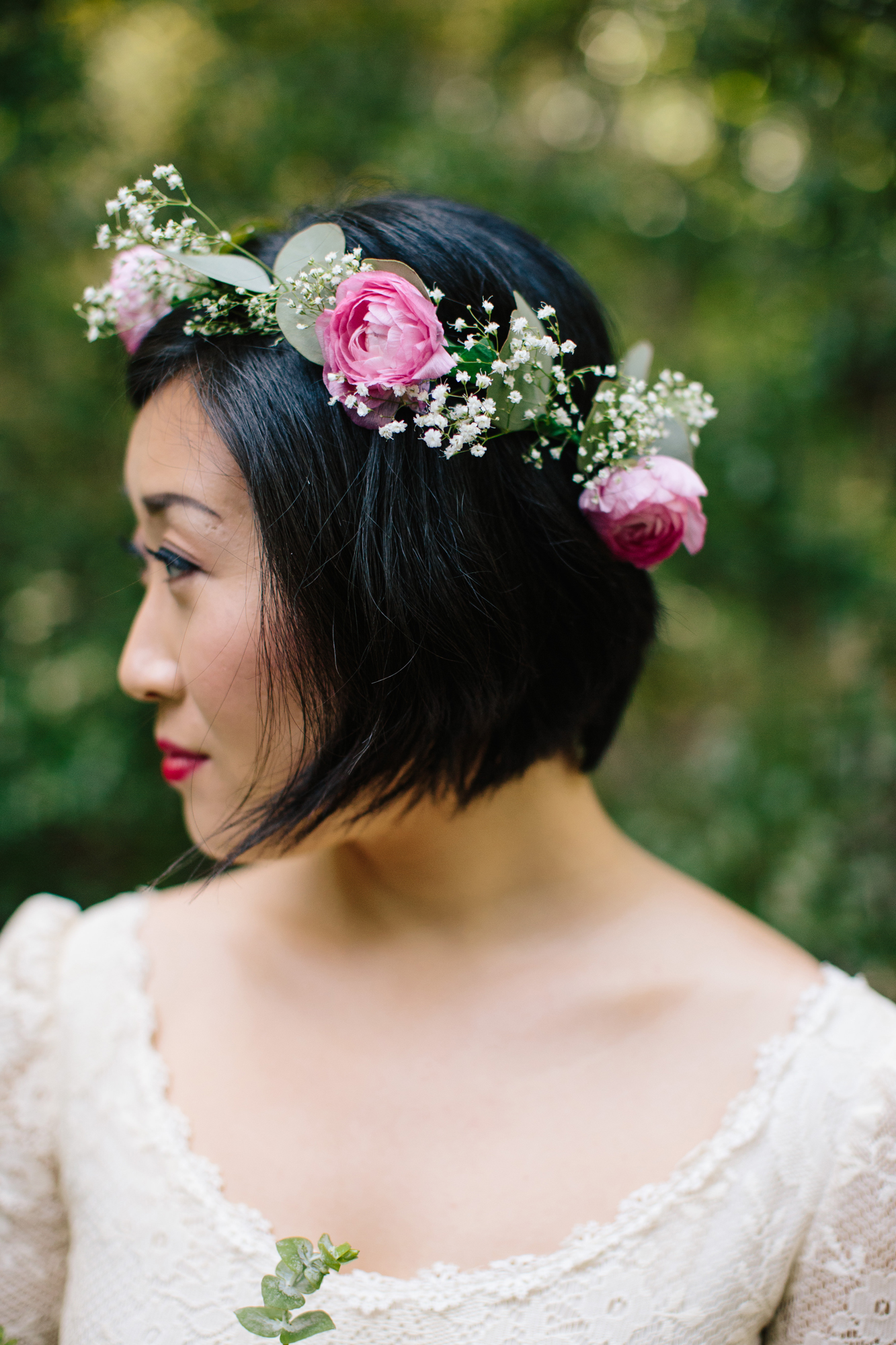 DIY Wedding Flower Crown
