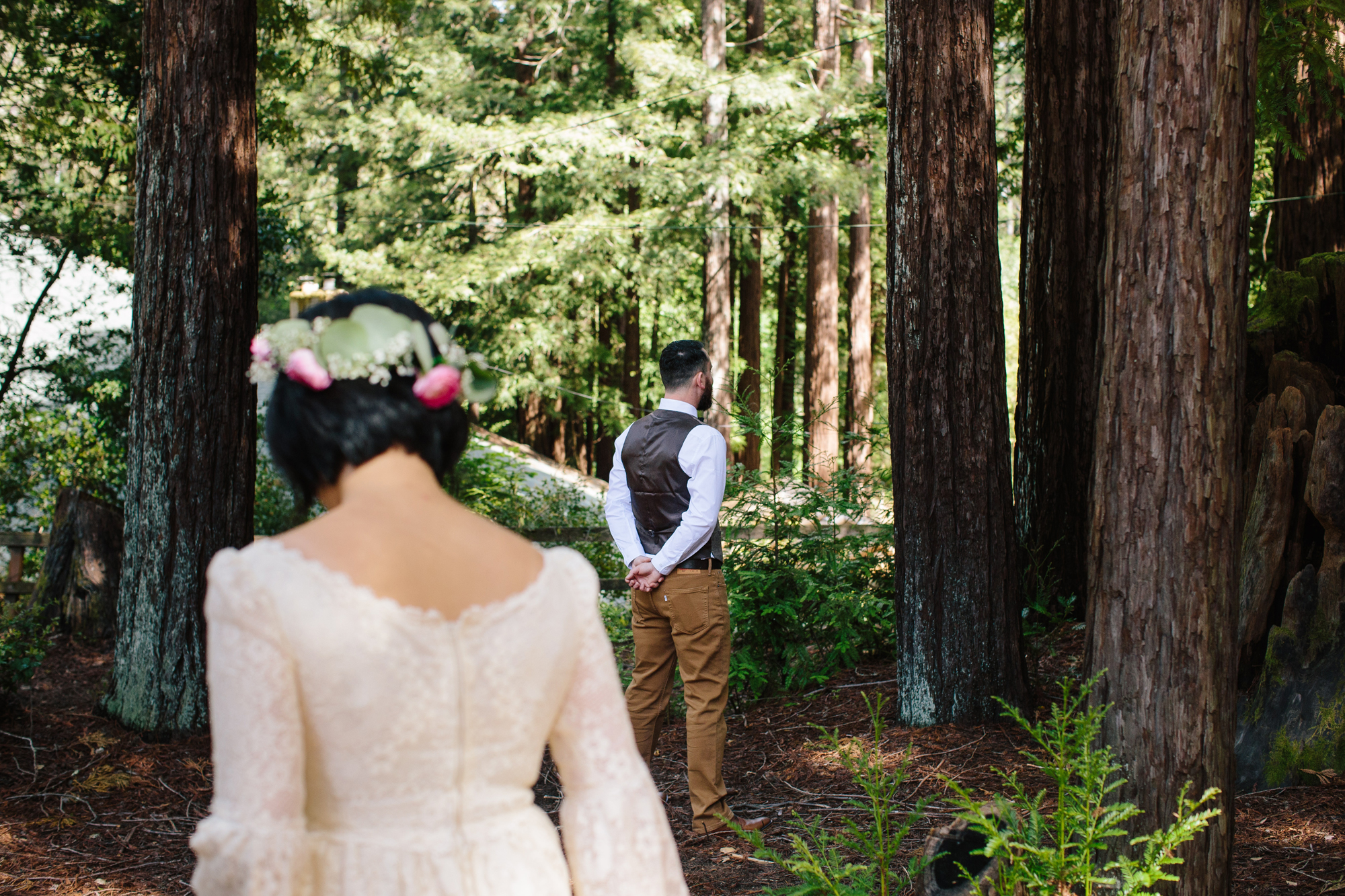 Camp Campbell Wedding First Look