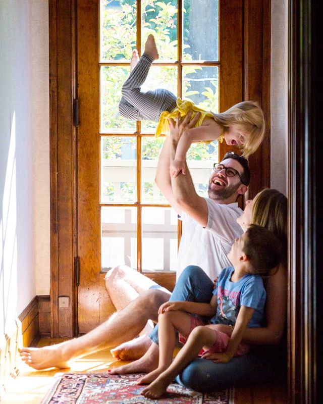 Every one of my family sessions has confirmed that all toddlers do this thing with their legs when thrown in the air.  Why is this?  Do you think it would happen if someone threw me up in the air? 😂