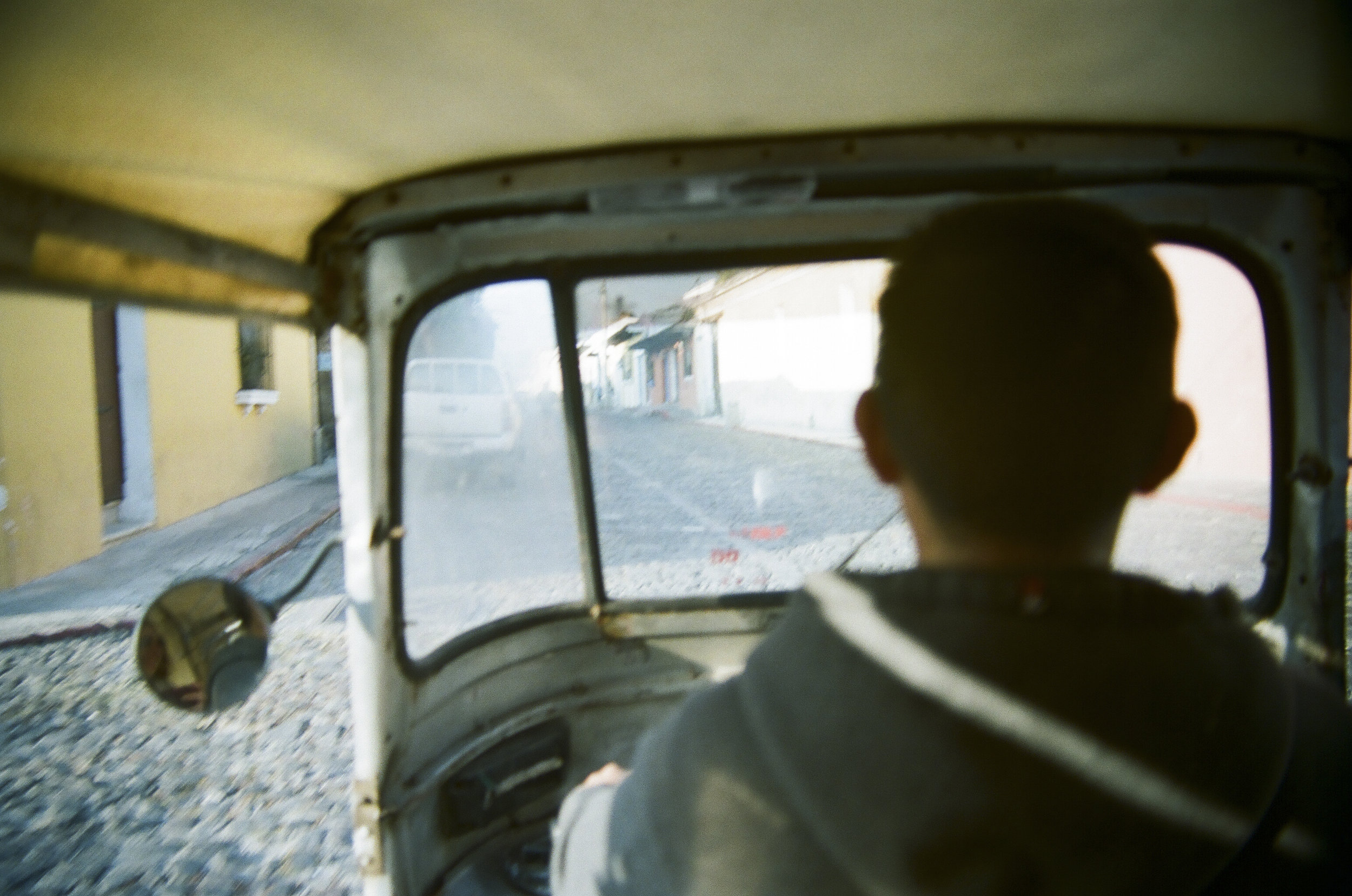 Tuk tuk ride in Antigua