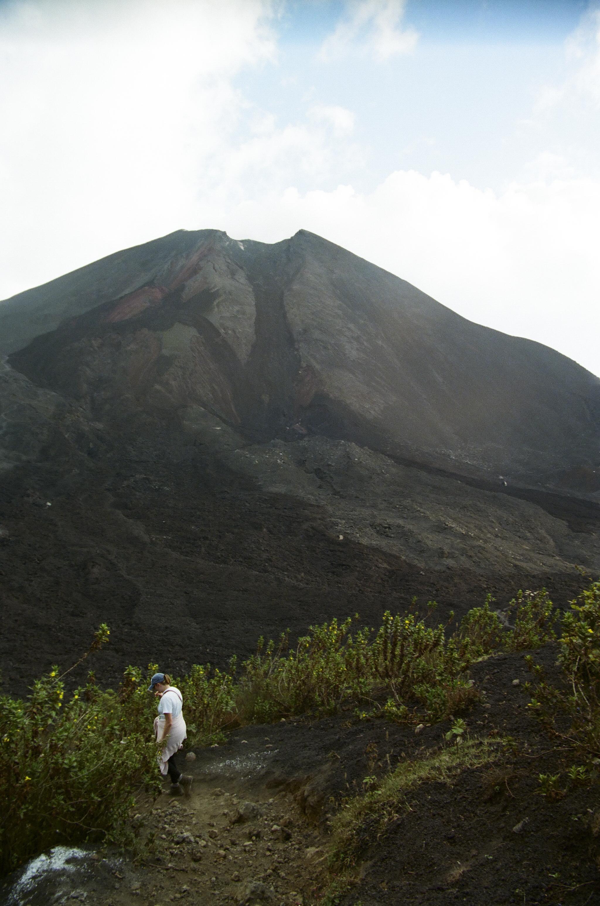 Pacaya Volcano. Yes, it's active.