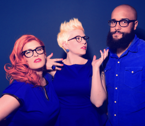 Pearl and the Beard  // Photo Shoot // Brooklyn, NY   Art Direction Collaboration // Concept Collaboration   Photo by  Shervin Lainez      Hair and Makeup by  Laura Mitchell     Eyewear provided by  Moscot