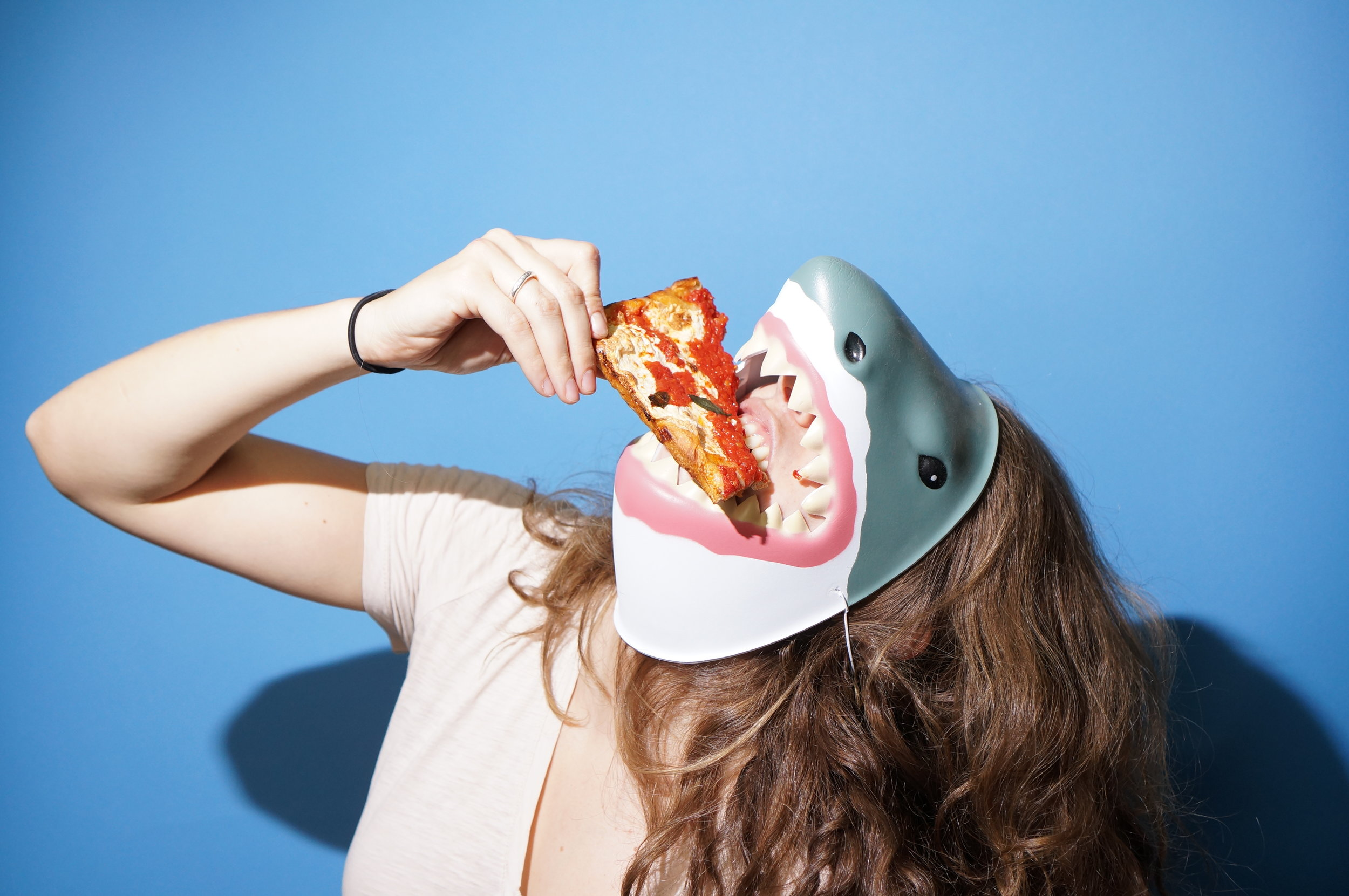 Steph Mantis  //  Forever Pizza  Promo Photo   Styling // Props // Art Direction // Photo