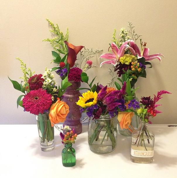Floral Arrangements //  Late Summer