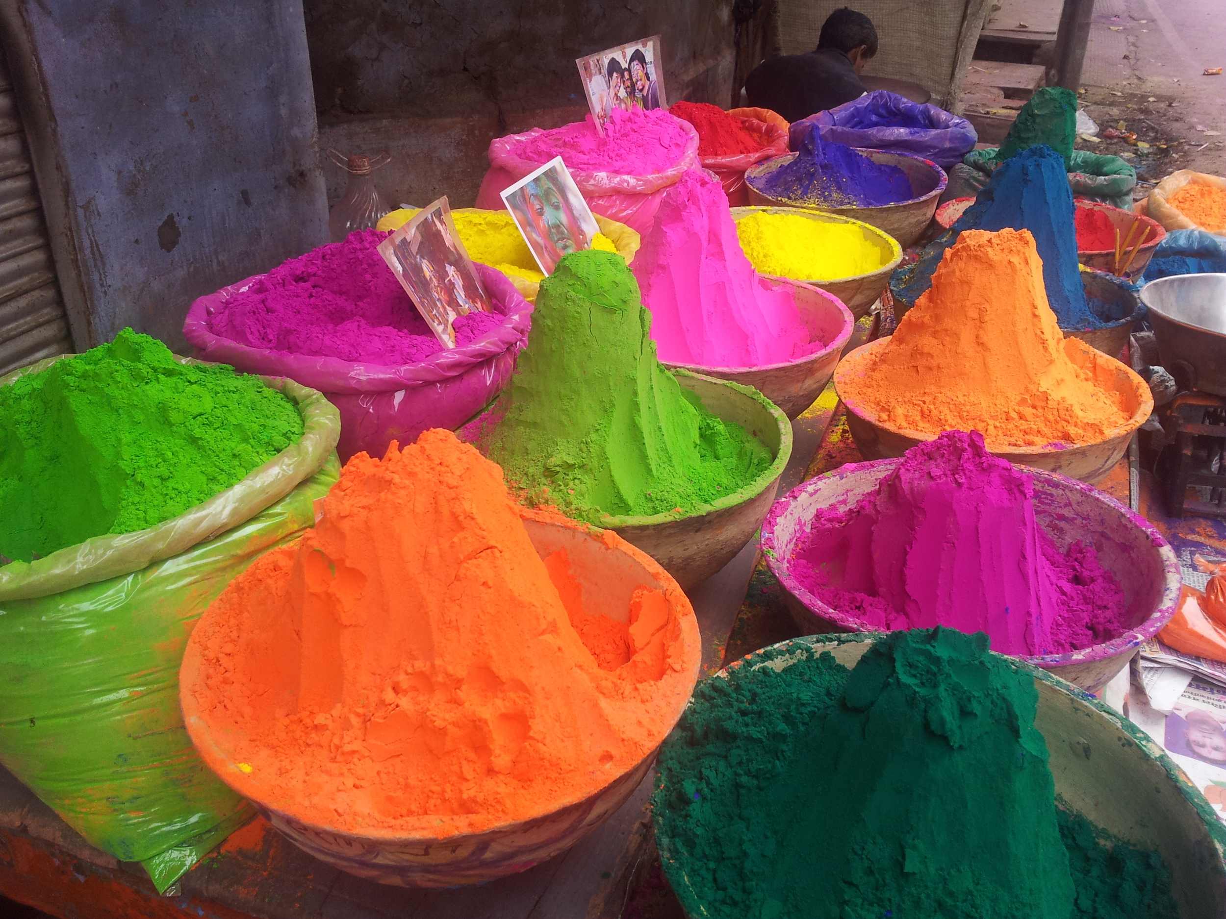 Colors of Holi, Rajasthan India