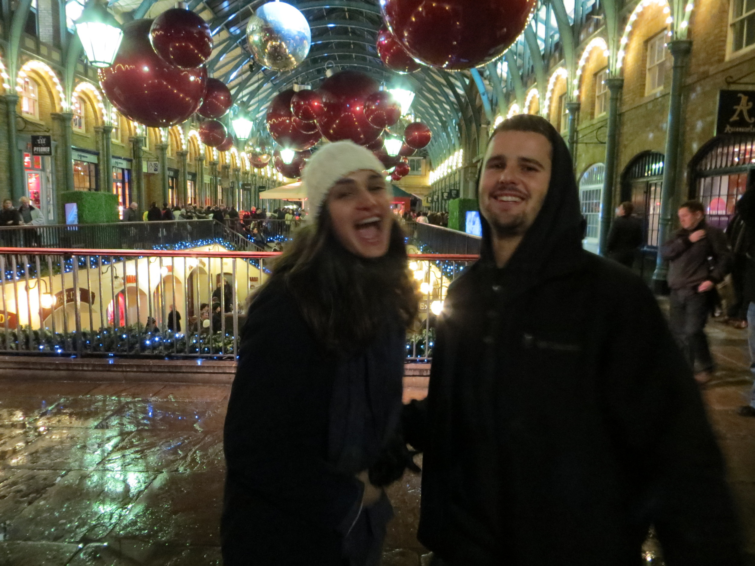 On se regale, the crazies themselves at Convent Garden