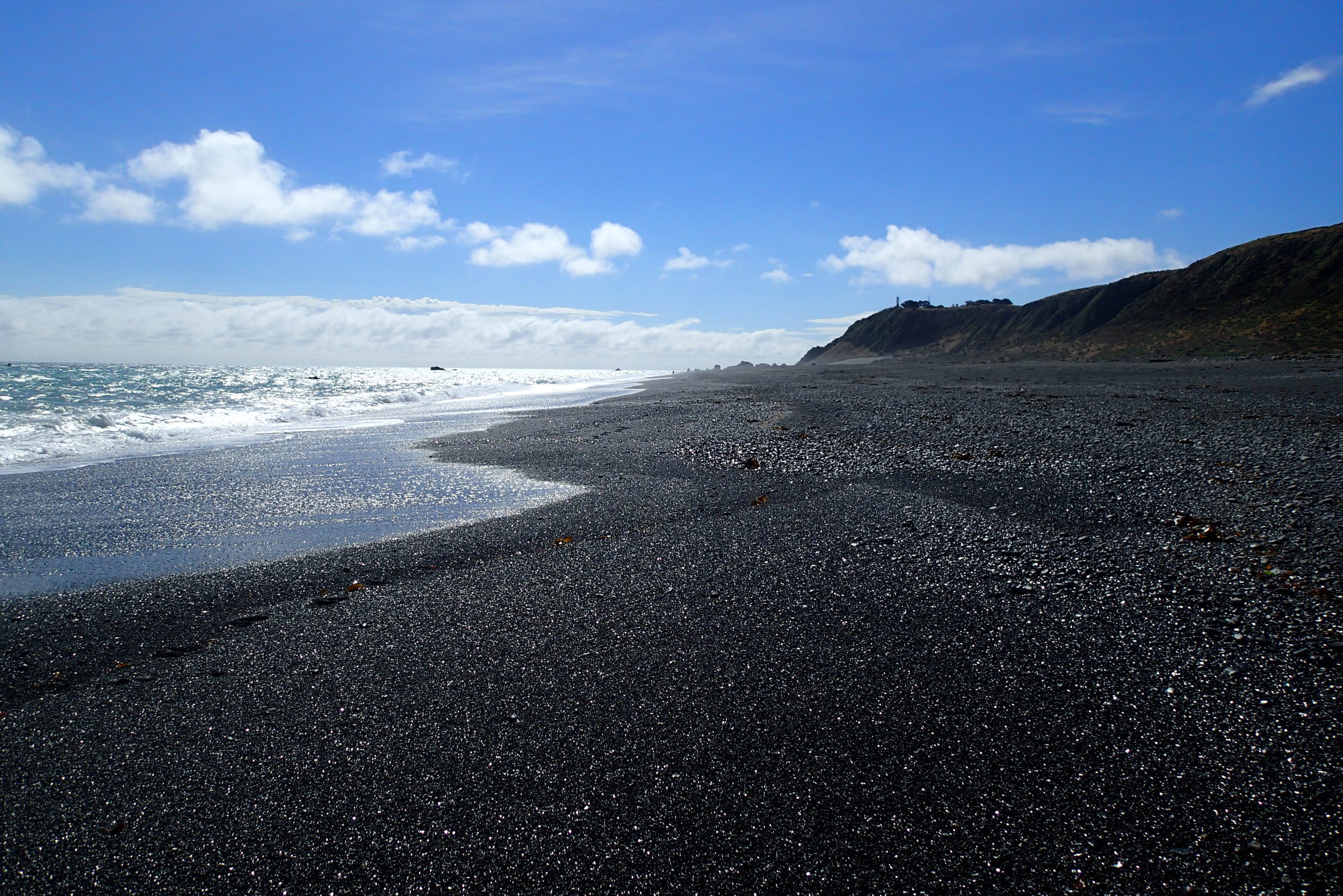 Just east of Wellington, because you haven't seen enough beaches