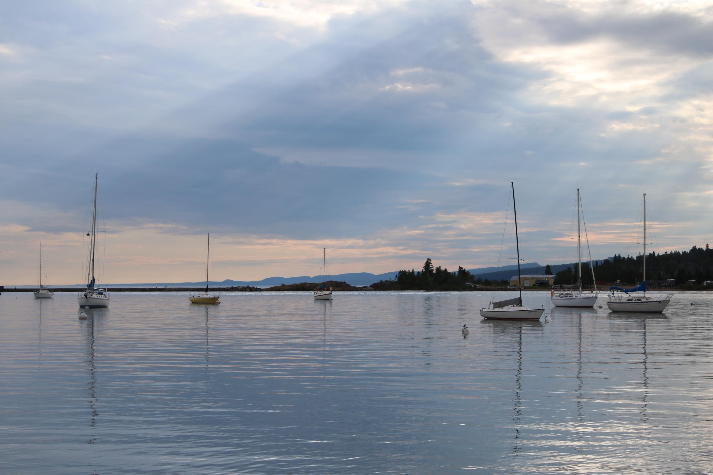 marina on the north shore