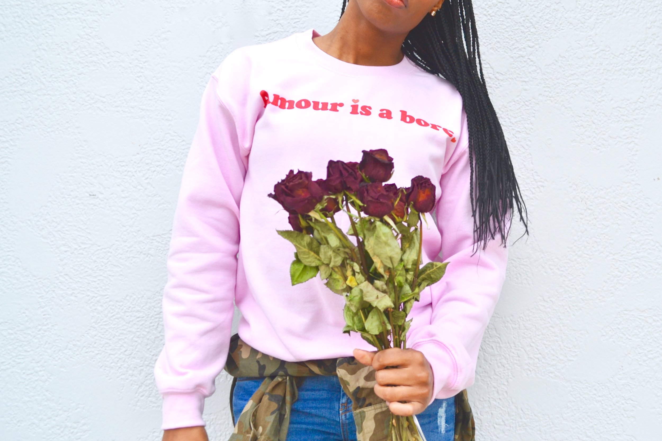 Sweatshirt from Tees and Tank you. Check them out here!