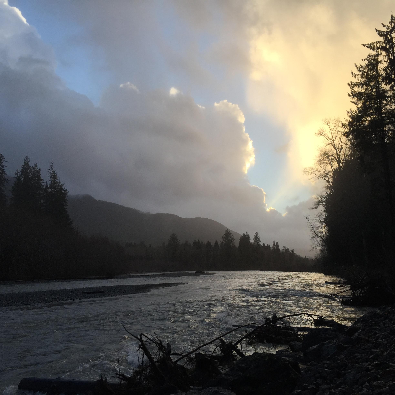 Hoh River - Washington January 2015