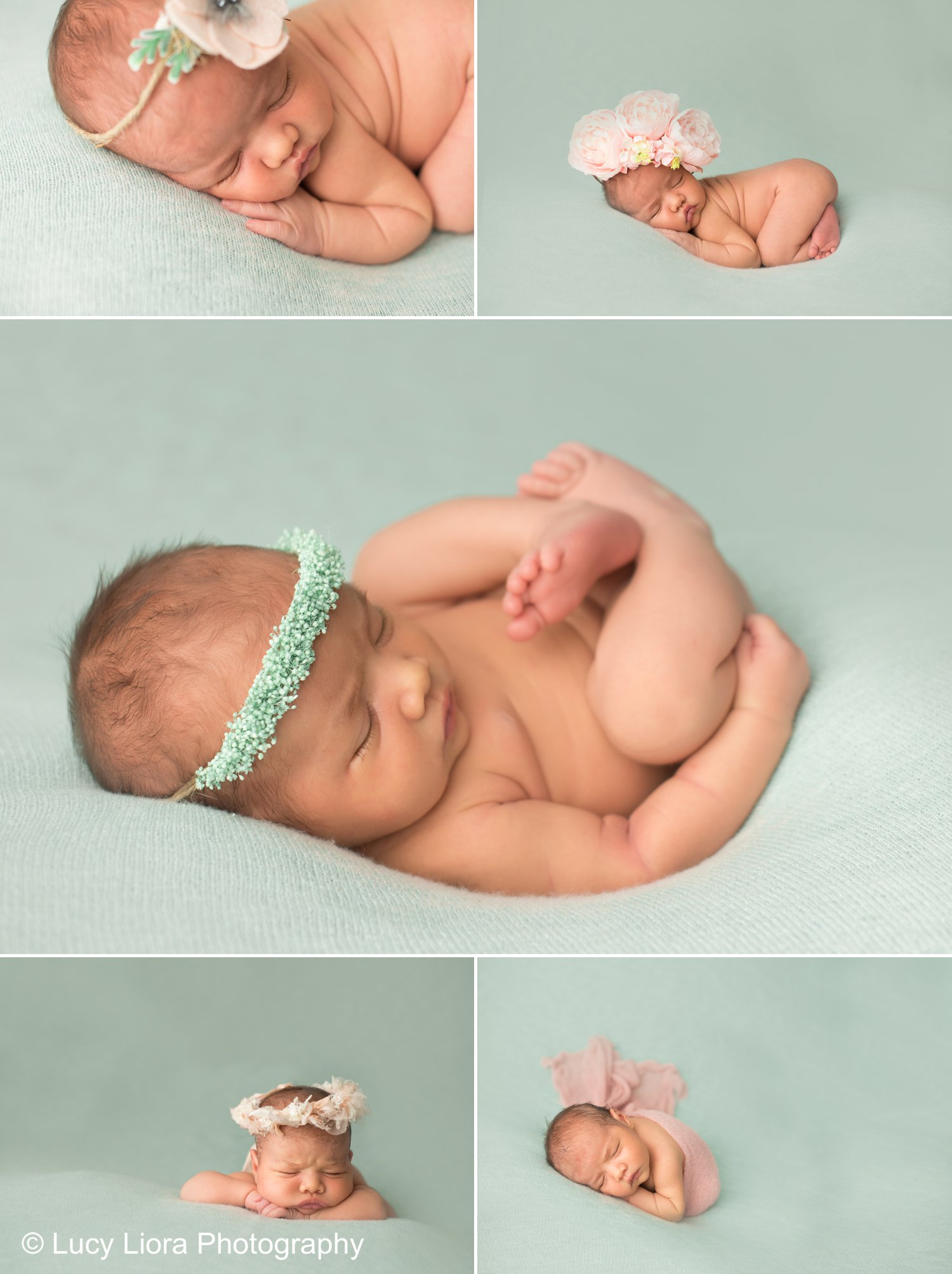 rosemeade-newborn-photographer-mint-colorful-baby-girl-2