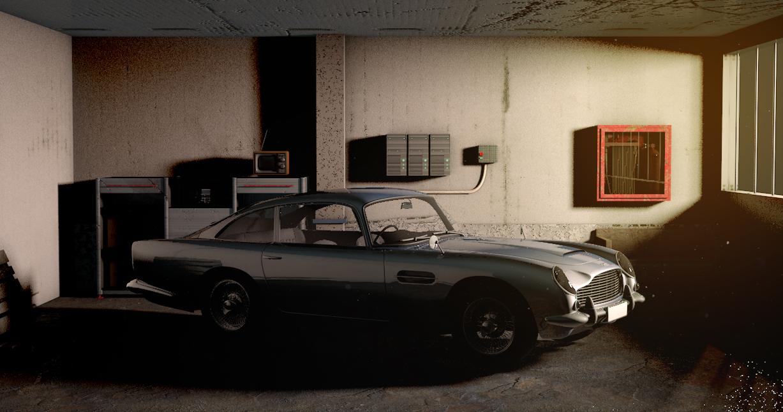 THE GARAGE - The garage i never had.