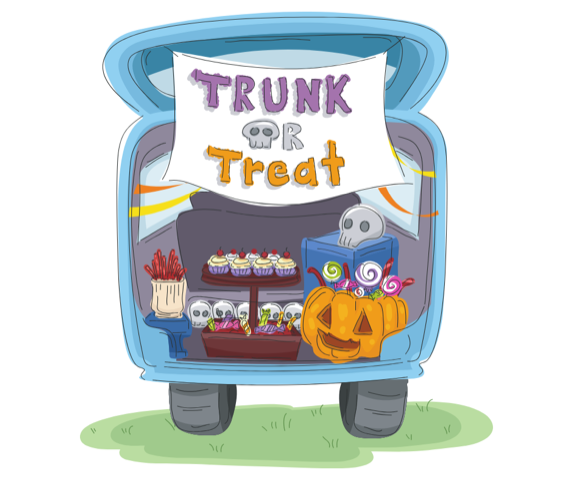 SAVE THE DATE! - 4th ANNUAL HEARST TRUNK OR TREAT OCTOBER 18, 2019