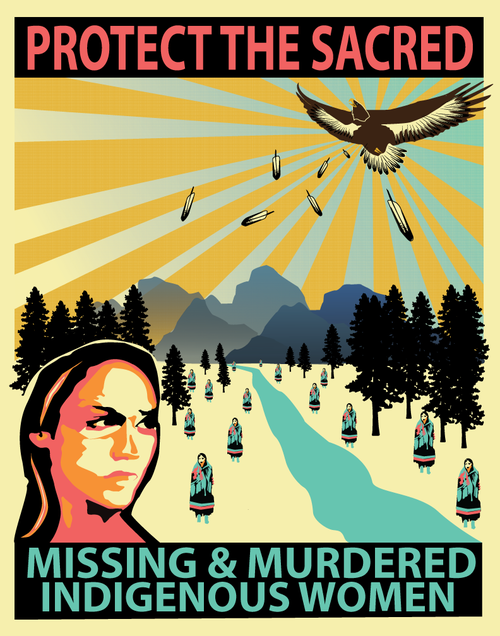 There are over 2,500 cases in the Missing and Murdered Indigenous Women database.