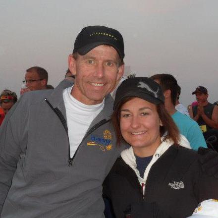 2012 Bismarck Marathon with Alyssa before the start.jpg