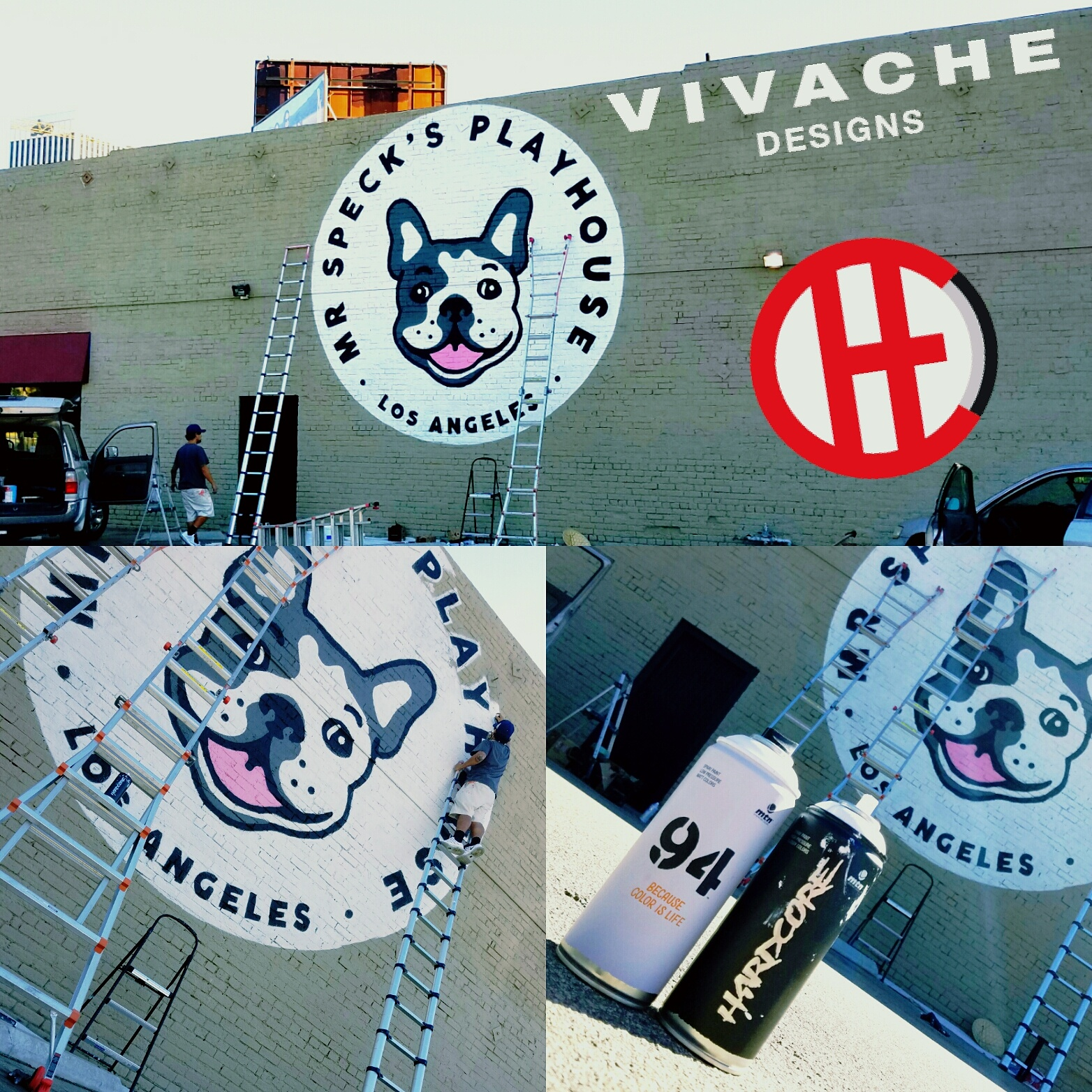 Vivache Designs Wall Mural Hollywood.jpg