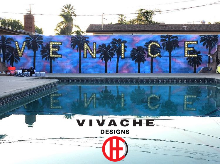 Vivache Designs Pool Mural