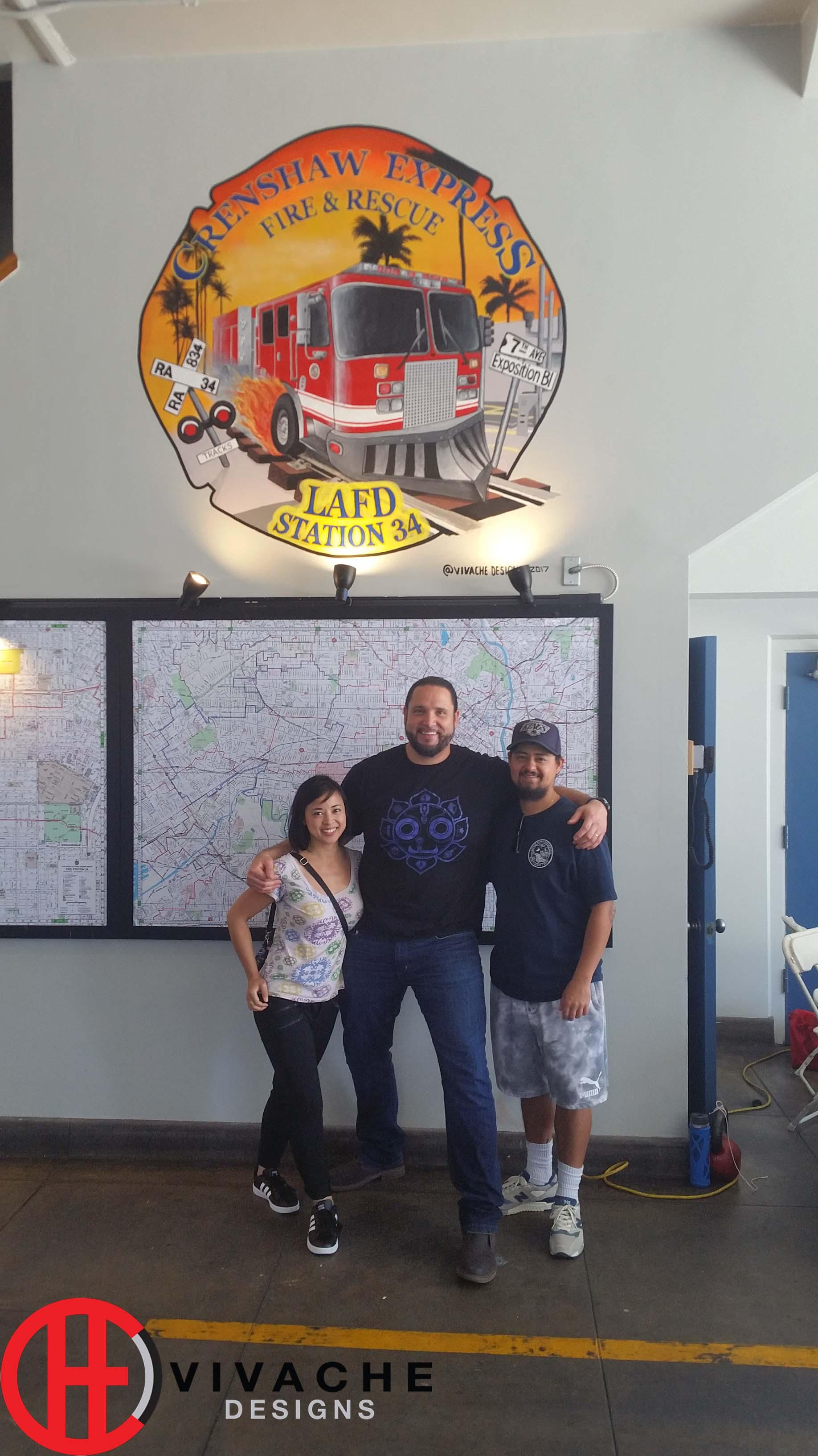 Team Vivache Designs Los Angeles Artist & Muralist Painted Murals, Wall Murals, Murals, Custom Murals .jpg