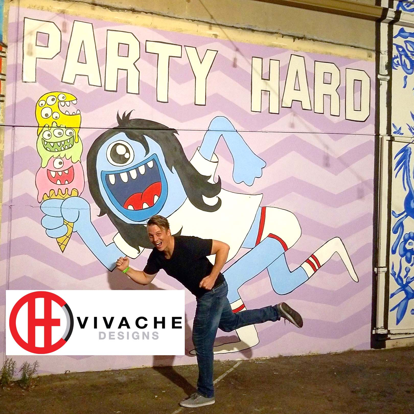 Mural Painter Vivache Designs Mural Gallery LA Art District Mural Painting .jpg