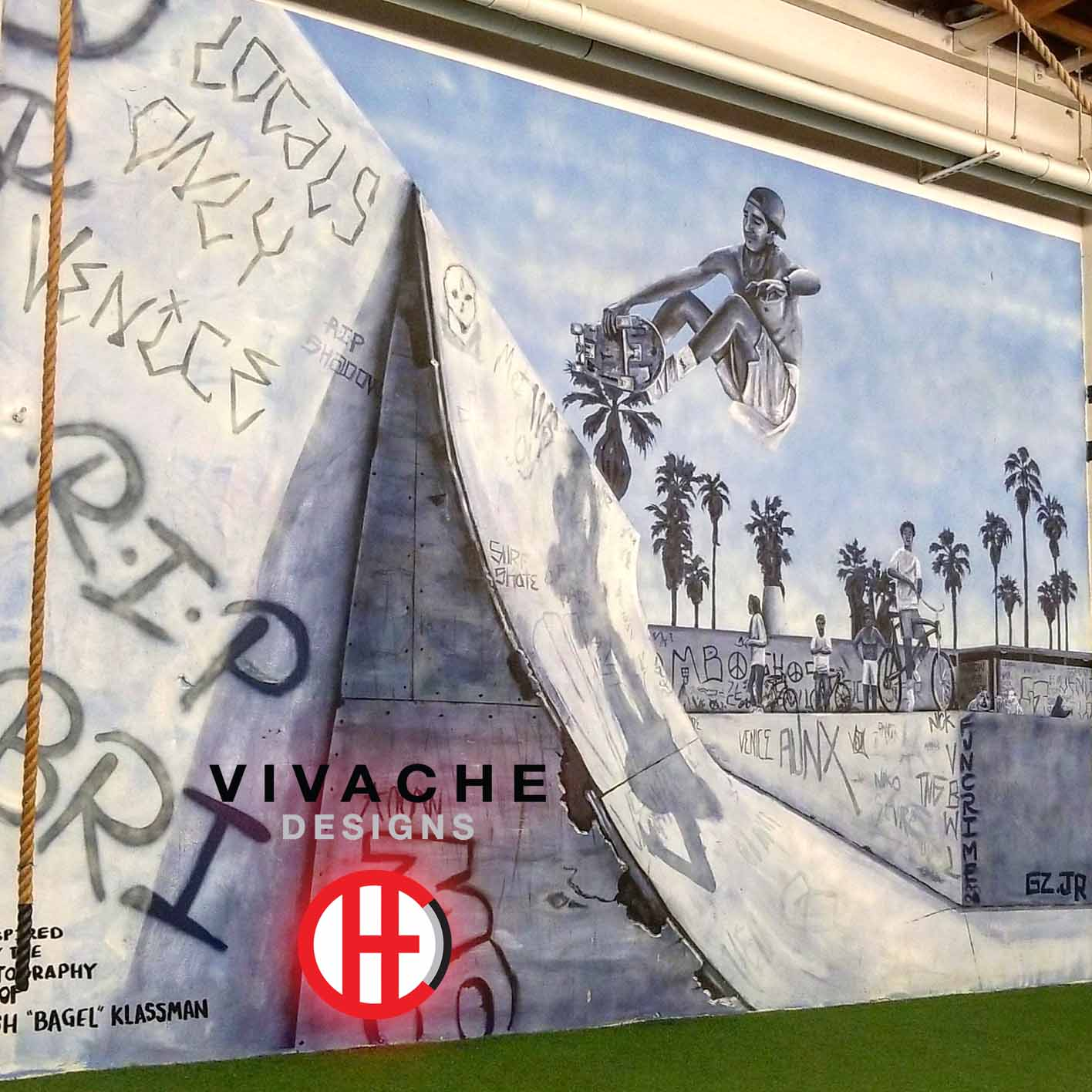Mural Painter Vivache Designs Wall Mural Art Gallery LA Art District Mural Painters.jpg