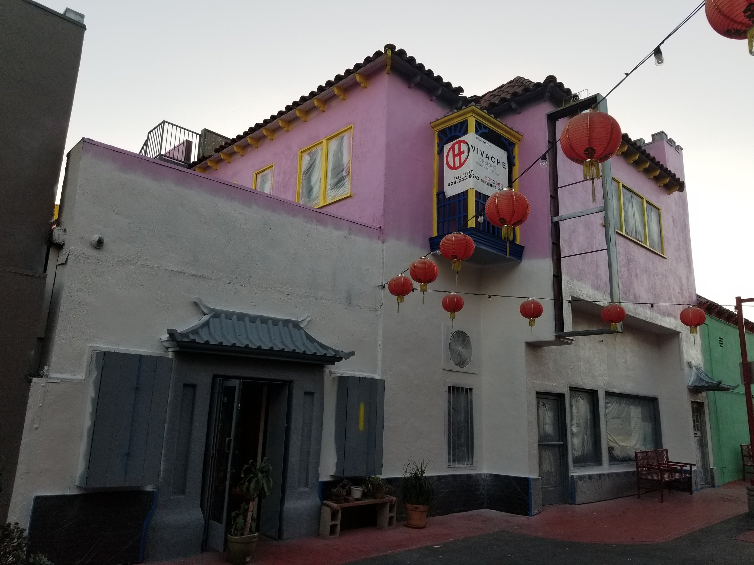 Vivache Designs Chinatown Mural Painter Los Angeles
