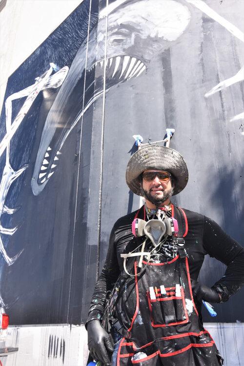 Mural Painter Mural Artist Muralist Street Art Painter Wall Murals Artist Vivache Designs Michael Che Romero.jpg