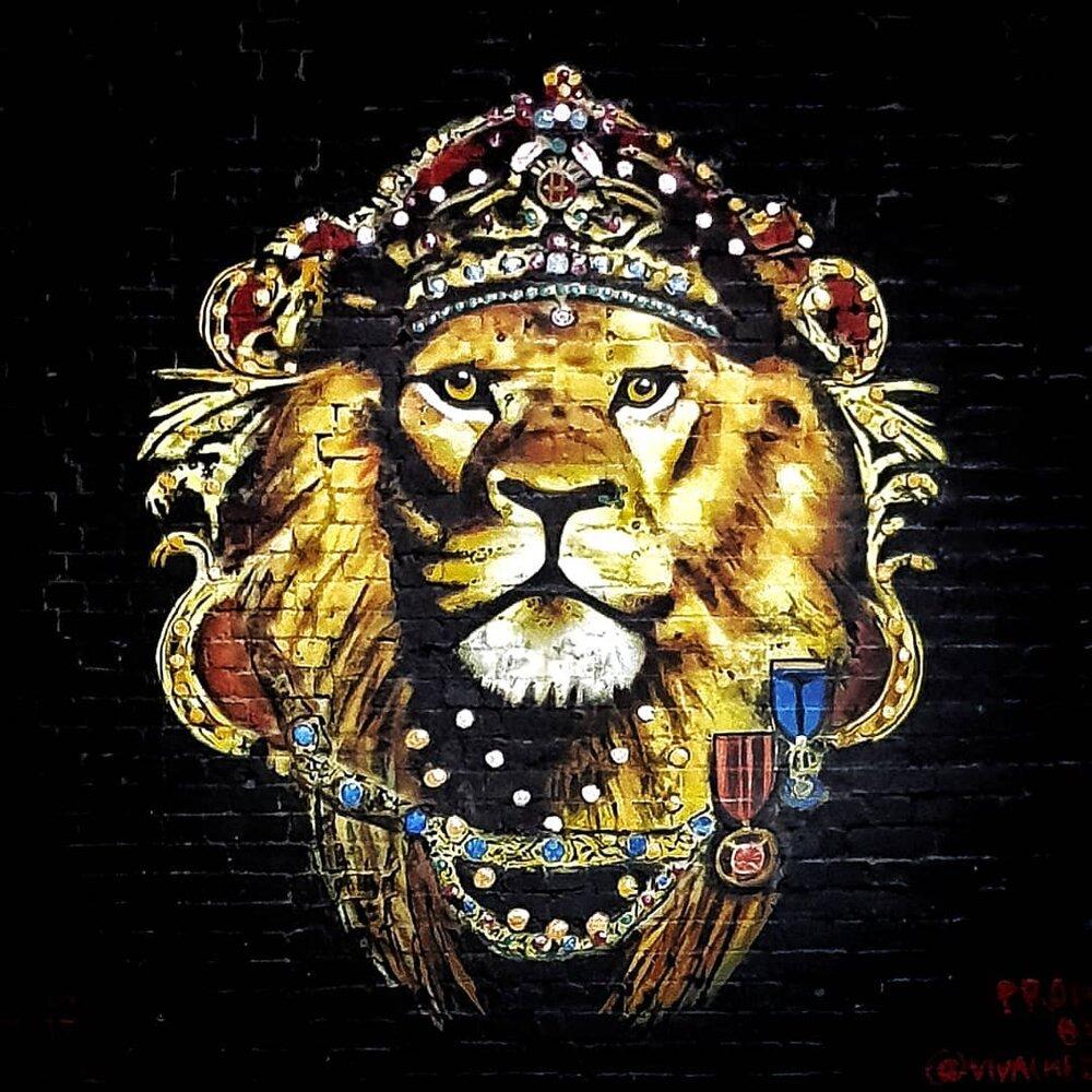 Vivache Mural Painter Che Mural Artist Street Art Lion Muralist Lion King.jpg