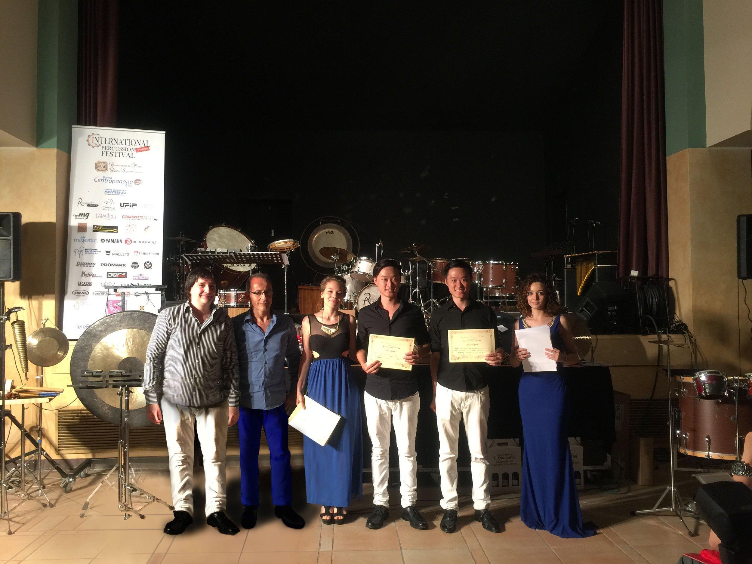 First Prize of Ensemble!