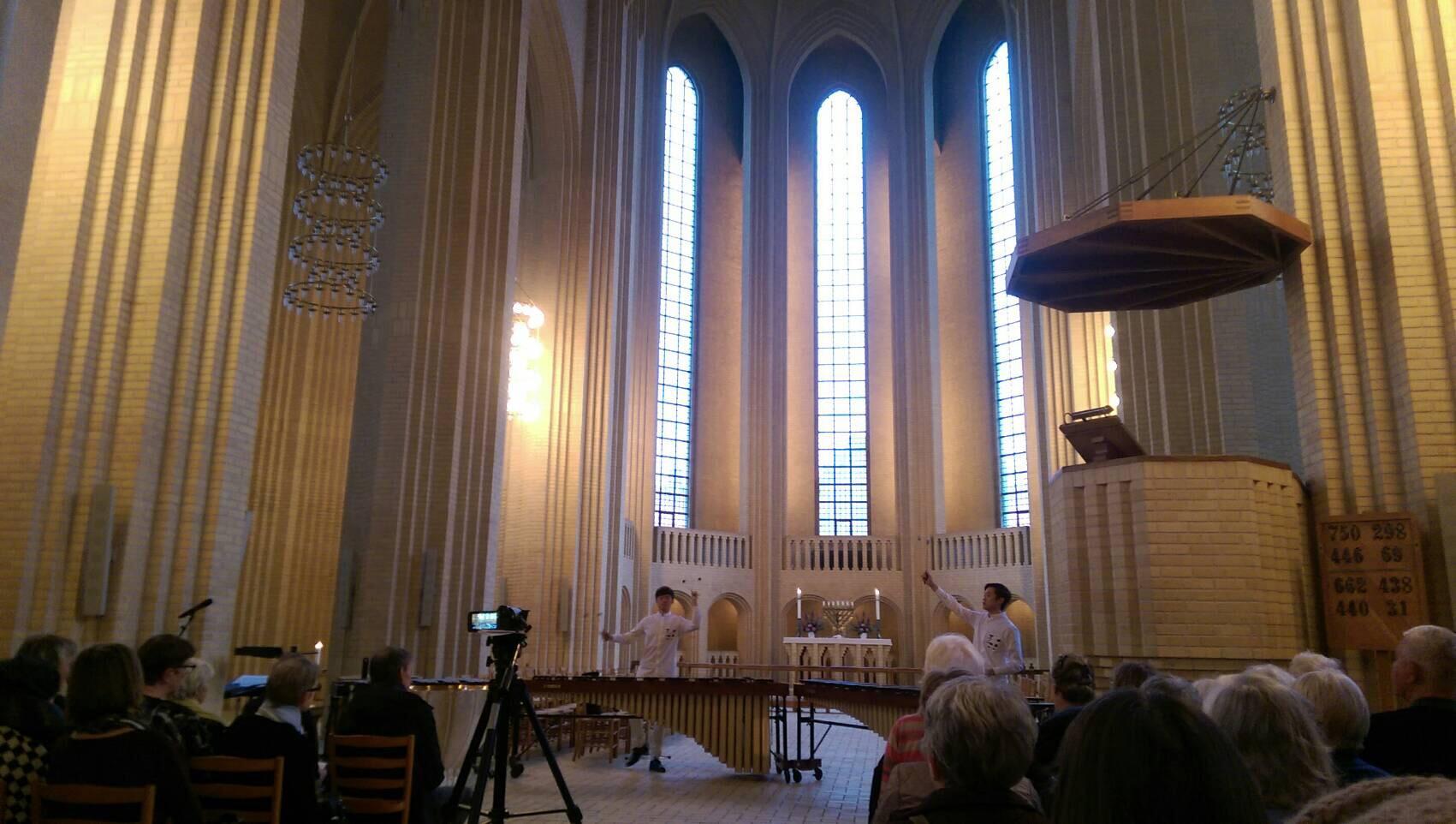 Play concert in Grundsvig Church