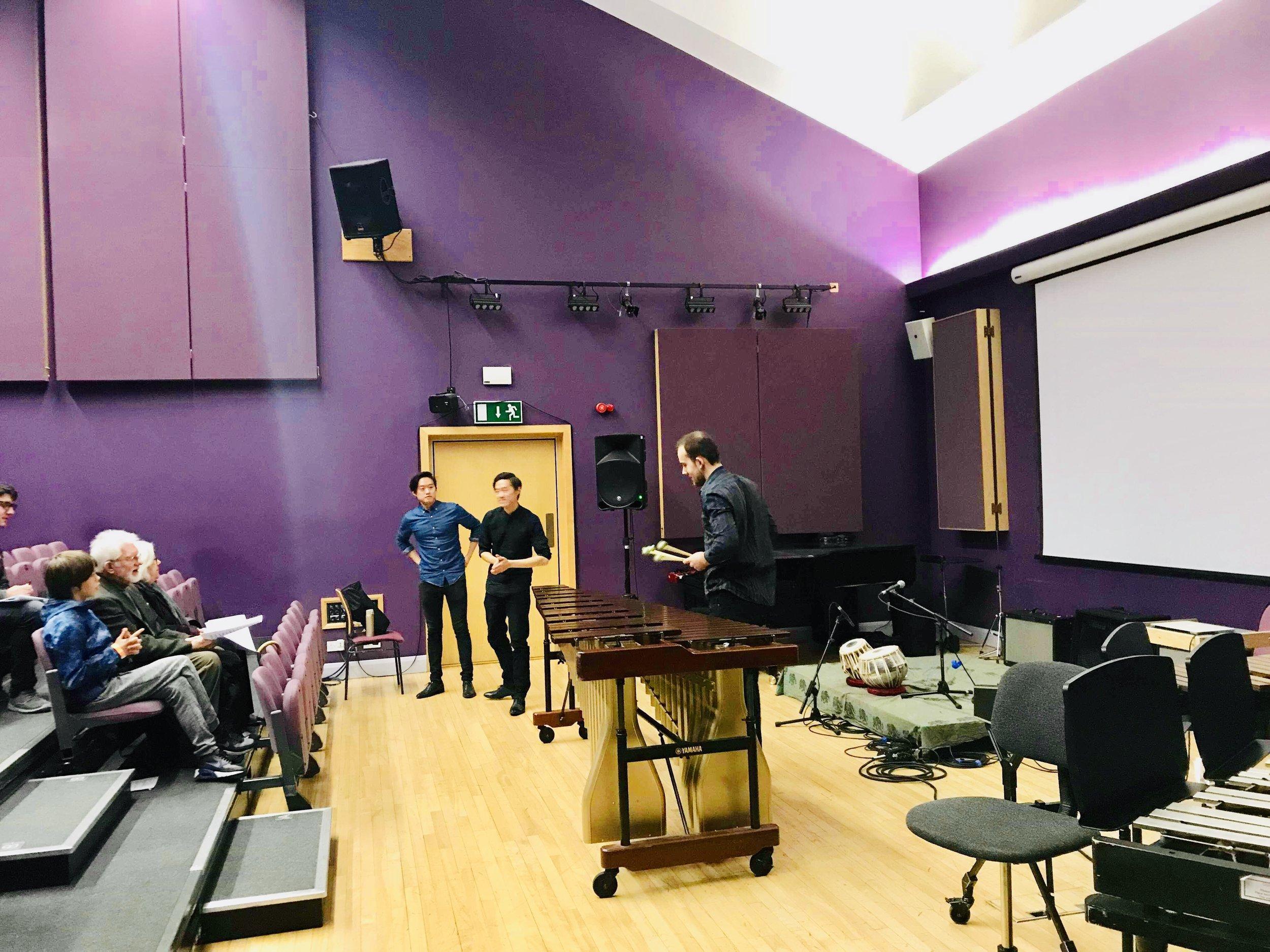 Master class in Leeds University