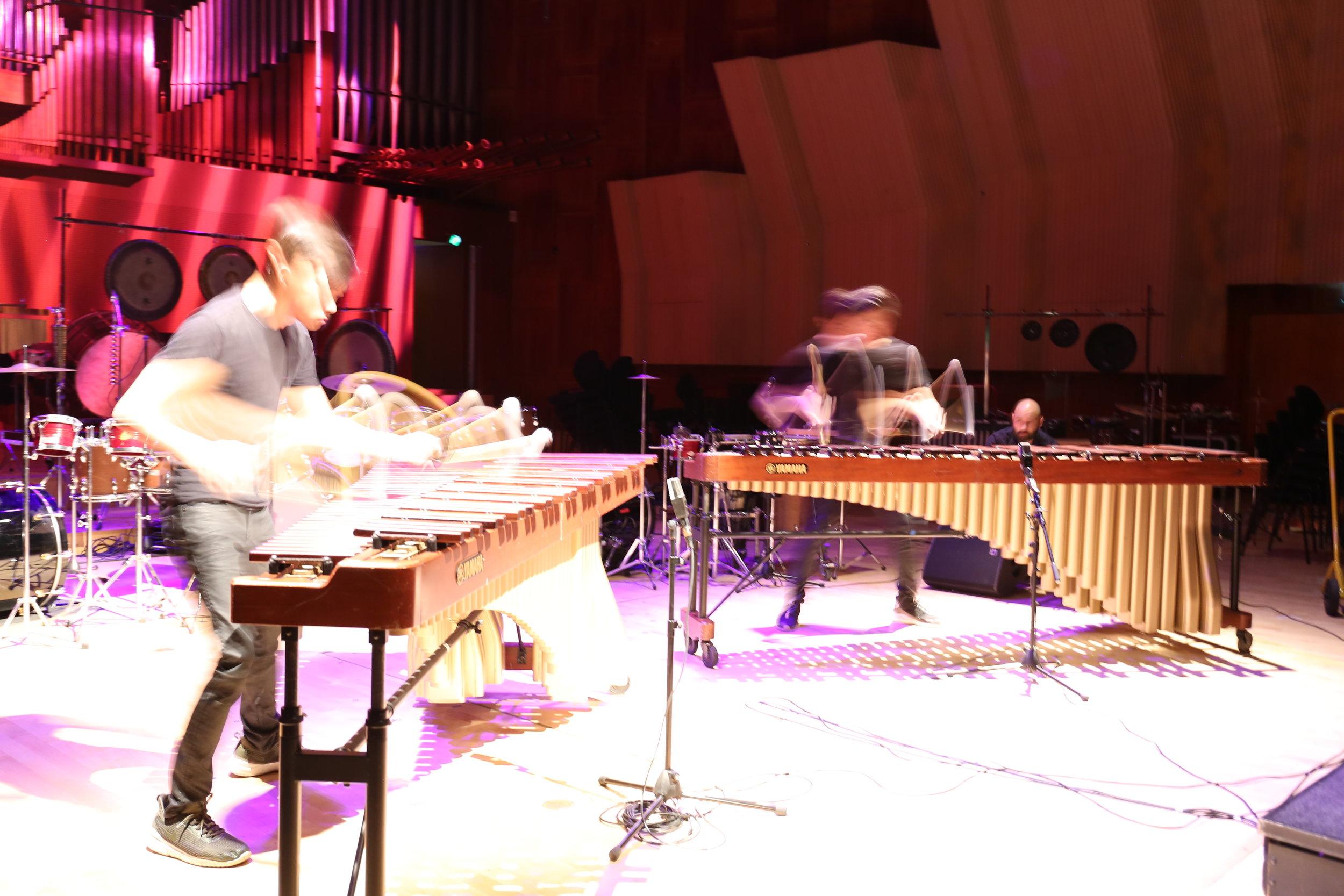 Debut concert in Copenhagen