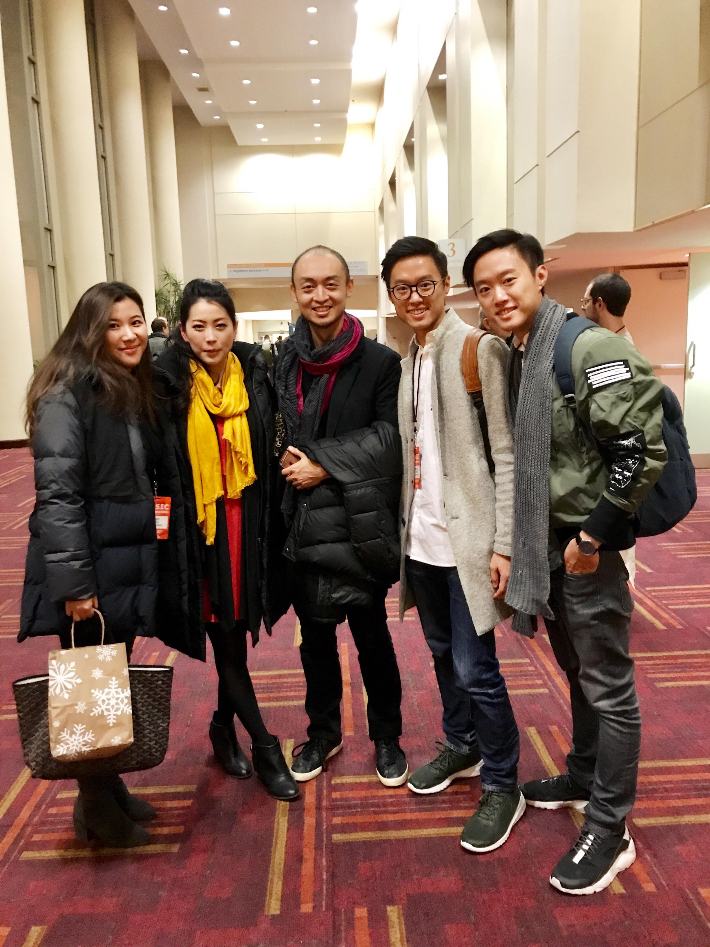 Eriko Daimo, Pius Chueng, Wu Yan, Twincussion