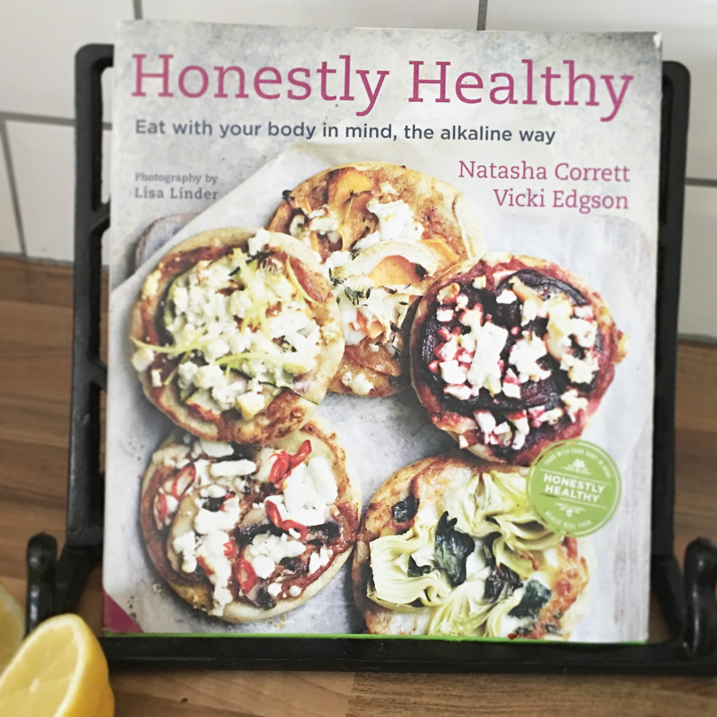 The Preggers Kitchen Honestly Healthy cookbook