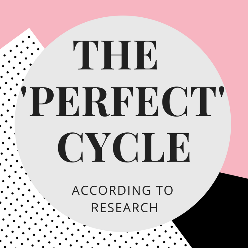 Characteristics of a perfect and fertile menstrual cycle