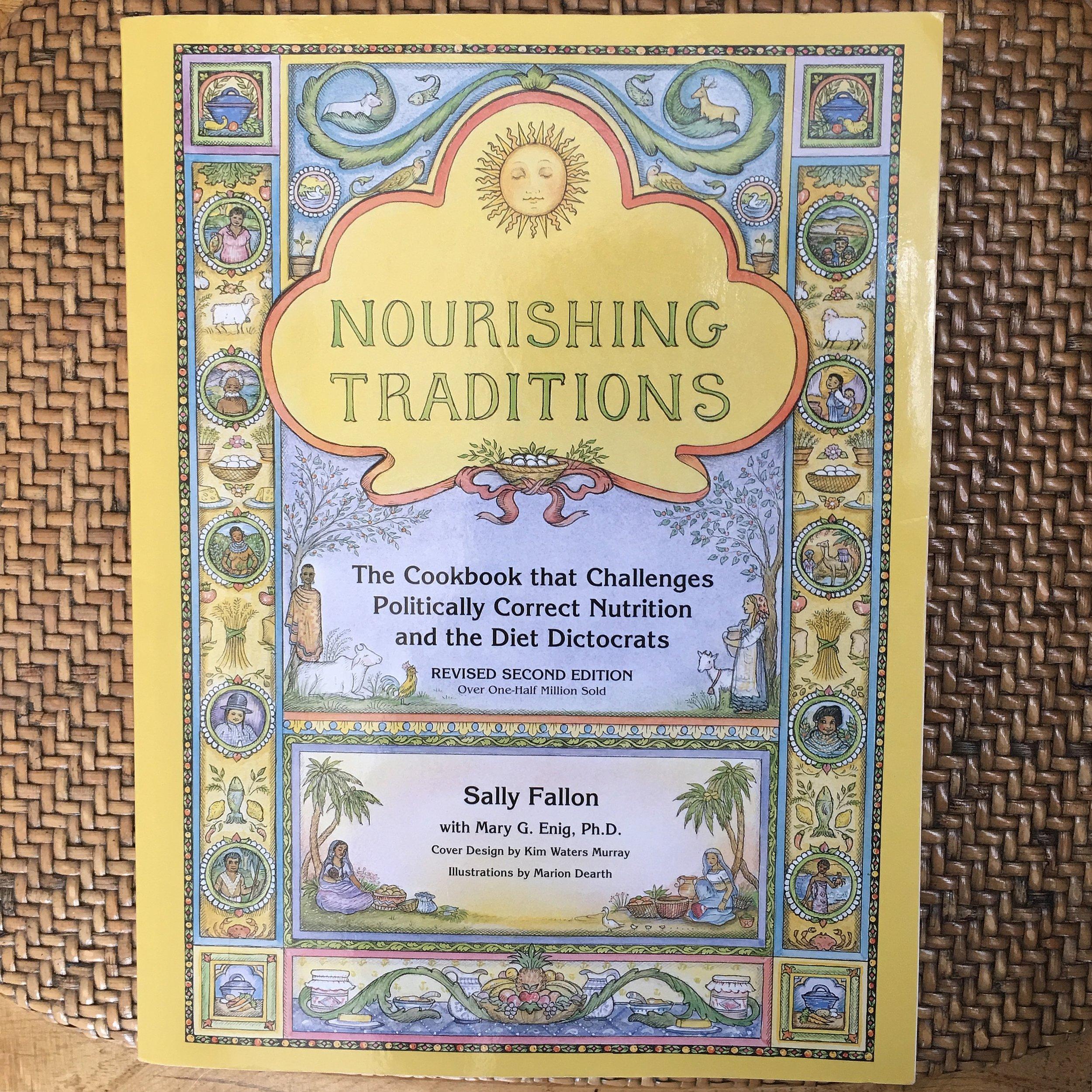 Sally Fallon Nourishing Traditions cookbook on The Preggers Kitchen