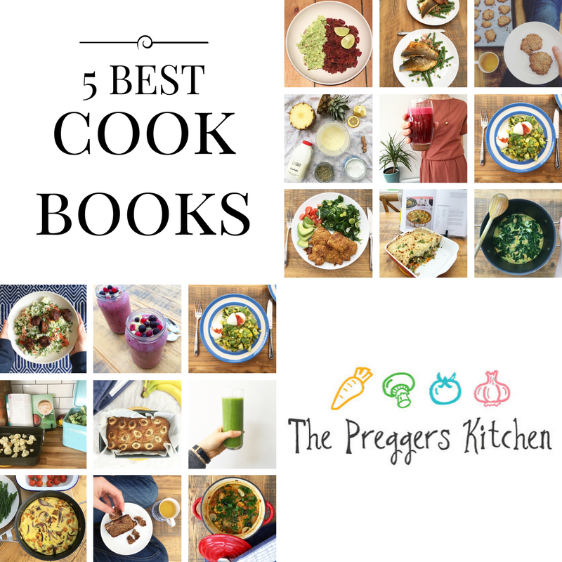 Top 5 cookbooks for PCOS and for fertility