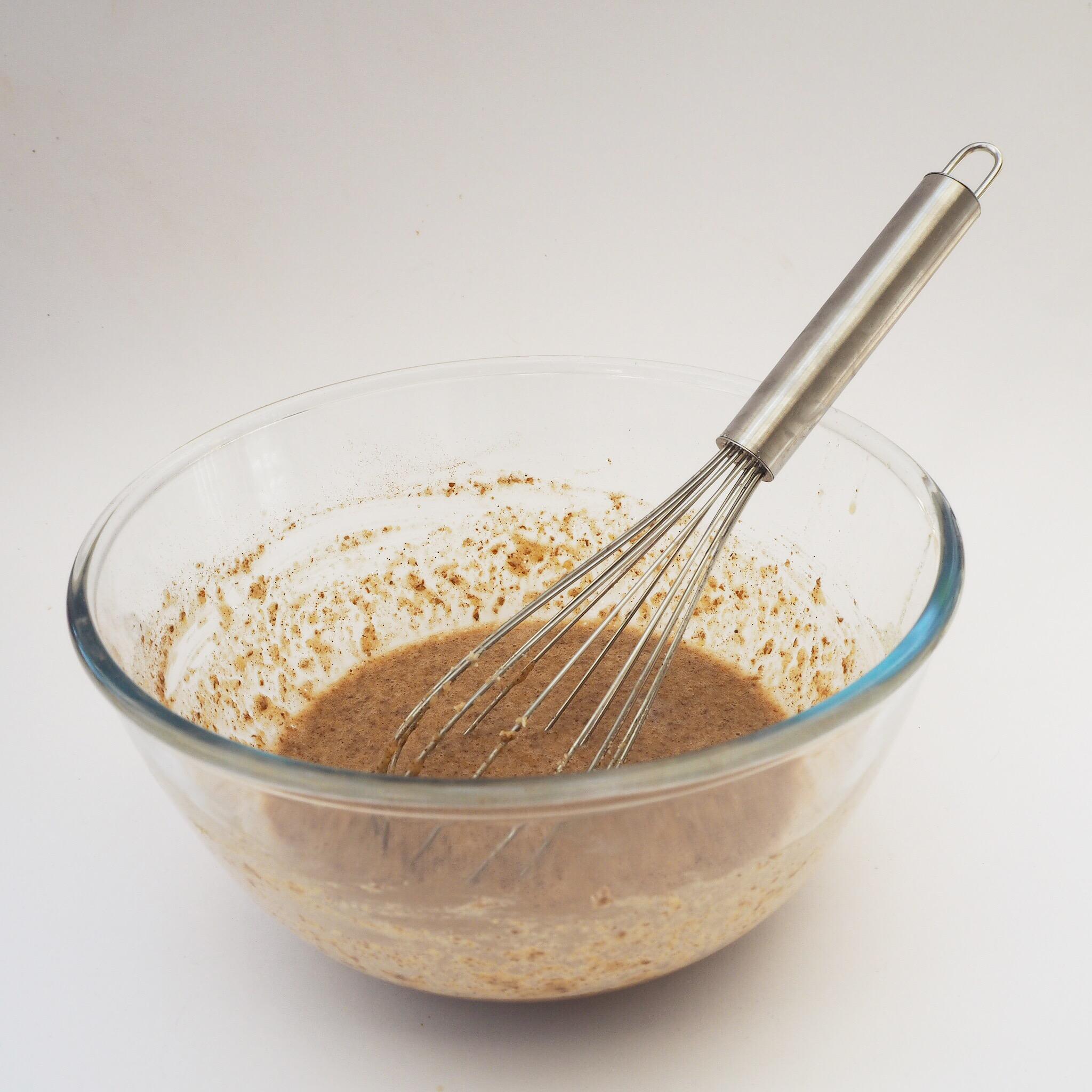 Gluten free pancake recipe - batter