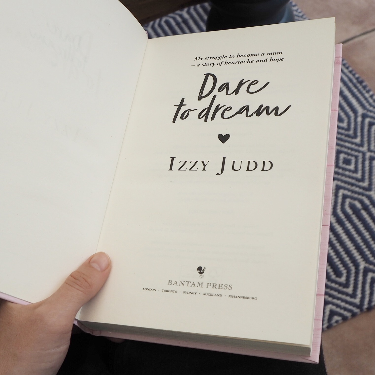 Fertility Book Review Dare to Dream by Izzy Judd